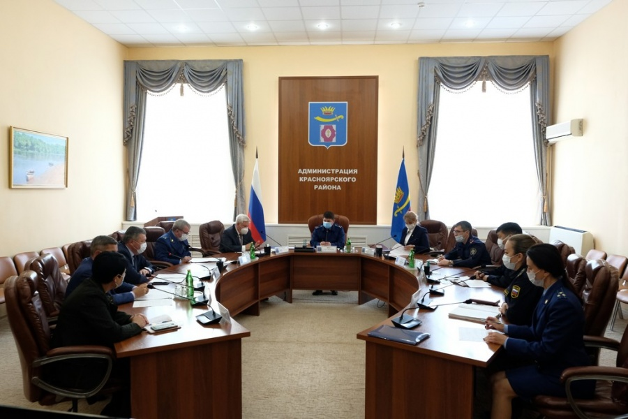 Приём граждан прокурором области Сергеем Фростом